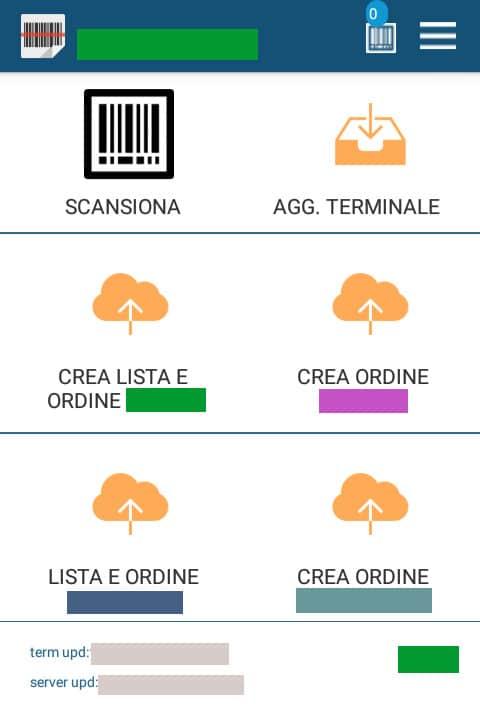 SSTerminali - app per magazzino - Sviluppo Siti web