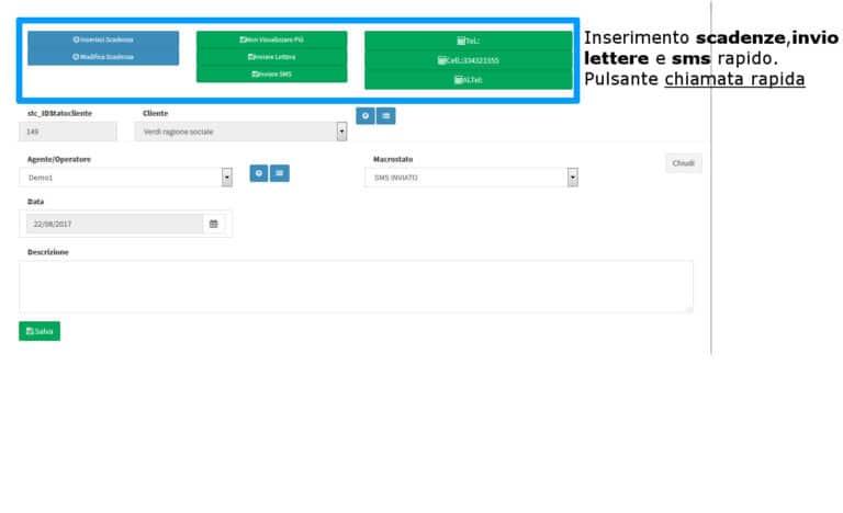 Gestione Telemarketing FinManagerNet - Software per agenti finanziari